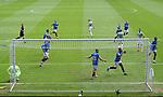 02.05.2021 Rangers v Celtic: Alfredo Morelos scores