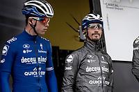 Julian Alaphilippe (FRA/Deceuninck - Quick-Step) at sign-on<br /> <br /> Stage 6: Saint-Vulbas to Saint-Michel-de-Maurienne (228km)<br /> 71st Critérium du Dauphiné 2019 (2.UWT)<br /> <br /> ©kramon