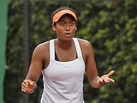 Hilversum, Netherlands, August 13, 2016, National Junior Championships, NJK, Dainah Cameron (NED) wins girls 16 years<br /> Photo: Tennisimages/Henk Koster