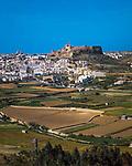Malta, Insel Gozo, Victoria: Zitadelle auf dem Tafelberg | Malta, Island Gozo, Victoria: citadel at Table Mountain