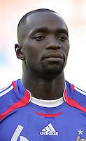 Claude Makelele of France. France and Switzerland played to a 0-0 tie in their FIFA World Cup Group G match at the Gottlieb-Daimler-Stadion, Stuttgart , Germany, on Tuesday, June 13, 2006.