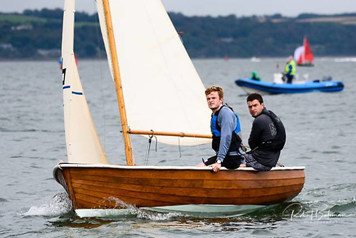 Rankin sailors in Cork Harbour Conor and Robbie English
