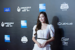 Jessica Jung walks on the Red Carpet event at the World Celebrity Pro-Am 2016 Mission Hills China Golf Tournament on 20 October 2016, in Haikou, China. Photo by Weixiang Lim / Power Sport Images