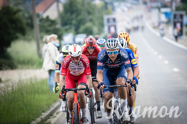 Jonas Rickaert (BEL/Alpecin Fenix)<br /> <br /> 17th Dwars Door Het Hageland 2021<br /> One Day Race: Aarschot – Diest 18Okm (UCI 1.Pro)<br /> Bingoal Cycling Cup 2021<br /> <br /> ©kramon