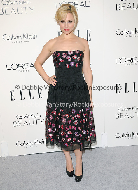 Cara Buono  walks the carpet as Elle Honors Hollywood's Most Esteemed Women in the 17th Annual Women in Hollywood Tribute held at The Four Seasons Beverly Hills in Beverly Hills, California on October 18,2010                                                                               © 2010 VanStory/Hollywood Press Agency