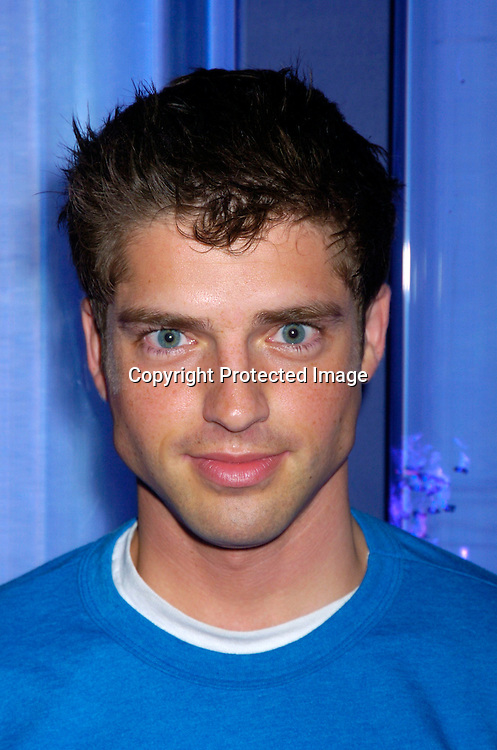 Scott Bailey ..at Marcia Tovsky's Pre Emmy party at Quo on May 19, 2004. ..Photo by Robin Platzer, Twin Images