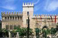 Spain. Valencia. Lonja. 15th Century. Built as the Silk Exchange and Maritime Court..