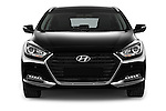 Car photography straight front view of a 2015 Hyundai I40 Premium 5 Door Wagon Front View