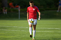 Portland, OR - Wednesday August 09, 2017: Indiana Vassilev during friendly match between the USMNT U17's and Chile u17's at Nike World Headquarters in Portland, OR.