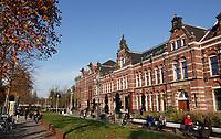 Nederland  Amsterdam  2020. Oud pand van de Westergasfabriek. Tegenwoordig het onderkomen van Hotel Conscious en restaurant Kantoor.  Foto : ANP/ HH / Berlinda van Dam