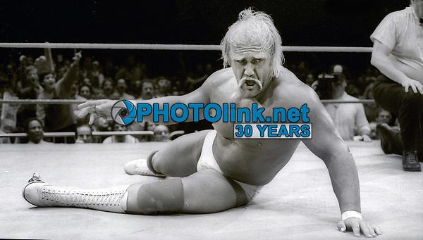 Hulk Hogan 1985<br /> Photo By Adam Scull/PHOTOlink.net