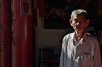 Chinese Buddhist temple in Battambang, Cambodia
