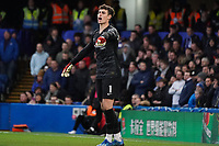 Chelsea's Kepa Arrizabalaga shouts instructions to his teammates<br /> <br /> Photographer Stephanie Meek/CameraSport<br /> <br /> The Premier League - Chelsea v Everton - Sunday 8th March 2020 - Stamford Bridge - London<br /> <br /> World Copyright © 2020 CameraSport. All rights reserved. 43 Linden Ave. Countesthorpe. Leicester. England. LE8 5PG - Tel: +44 (0) 116 277 4147 - admin@camerasport.com - www.camerasport.com