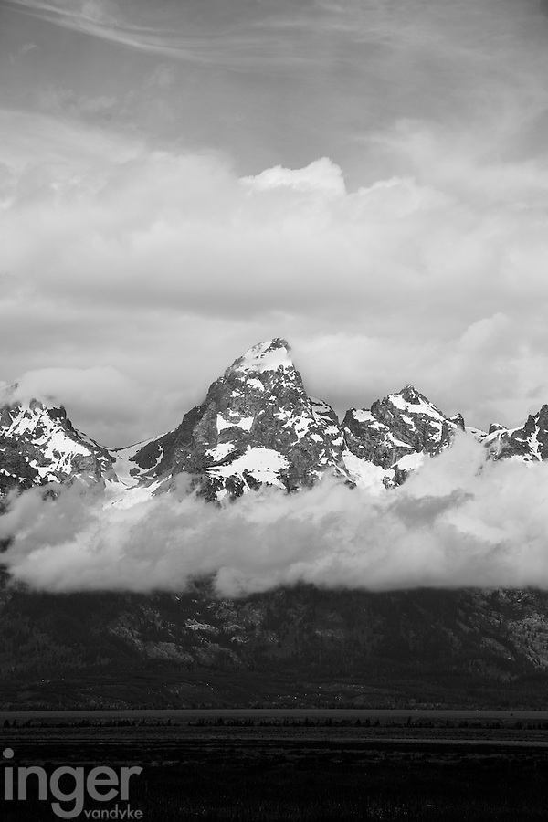 Cloudy Day in the Tetons