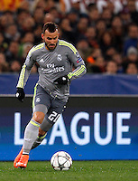 Calcio, andata degli ottavi di finale di Champions League: Roma vs Real Madrid. Roma, stadio Olimpico, 17 febbraio 2016.<br /> Real Madrid's Jese' in action during the first leg round of 16 Champions League football match between Roma and Real Madrid, at Rome's Olympic stadium, 17 February 2016.<br /> UPDATE IMAGES PRESS/Riccardo De Luca