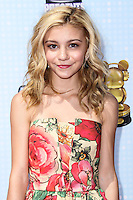 LOS ANGELES, CA, USA - APRIL 26: G. Hannelius, Genevieve Hannelius at the 2014 Radio Disney Music Awards held at Nokia Theatre L.A. Live on April 26, 2014 in Los Angeles, California, United States. (Photo by Xavier Collin/Celebrity Monitor)