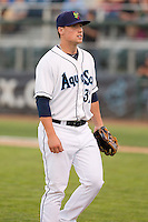 Dan Altavilla #32 of the Everett AquaSox during a game against the Vancouver Canadians at Everett Memorial Stadium in Everett, Washington on July 9, 2014.  Everett defeated Vancouver 9-4.  (Ronnie Allen/Four Seam Images)