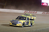 NASCAR Camping World Truck Series<br /> Eldora Dirt Derby<br /> Eldora Speedway, Rossburg, OH USA<br /> Wednesday 19 July 2017<br /> Grant Enfinger, Champion Power Equipment\ Curb Records Toyota Tundra and Matt Crafton, Ideal Door / Menards Toyota Tundra<br /> World Copyright: Russell LaBounty<br /> LAT Images