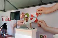 - Milano,  8/2015, festa nazionale dell'Unità del PD ai Giardini Pubblici di Porta Venezia<br /> <br /> - Milan, 8/2015, National Feast of Unity of PD party in the Public Gardens of Porta Venezia