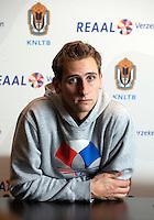 19-12-10, Tennis, Rotterdam, Reaal Tennis Masters 2010,   Thiemo de Bakker  bij de pers  conferentie