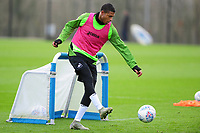 Rhian Brewster of Swansea City during the Swansea City Training at The Fairwood Training Ground in Swansea, Wales, UK.  Wednesday 08 January 2020