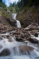 Bloucher Falls, Mt. Rainier National Park, Washington, US