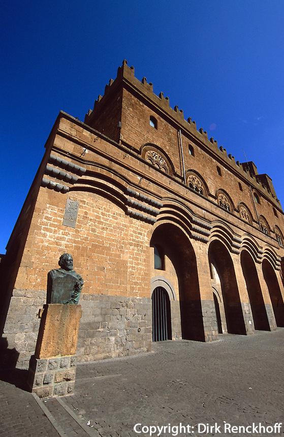Italien, Umbrien, Palazzo del Capitano del Popolo in Orvieto, 12. Jh.