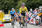 Yellow Jersey Adam Yates (GBR) Mitchelton-Scott climbs Col de Marie Blanque during Stage 9 of Tour de France 2020, running 153km from Pau to Laruns, France. 6th September 2020. <br /> Picture: Colin Flockton   Cyclefile<br /> All photos usage must carry mandatory copyright credit (© Cyclefile   Colin Flockton)