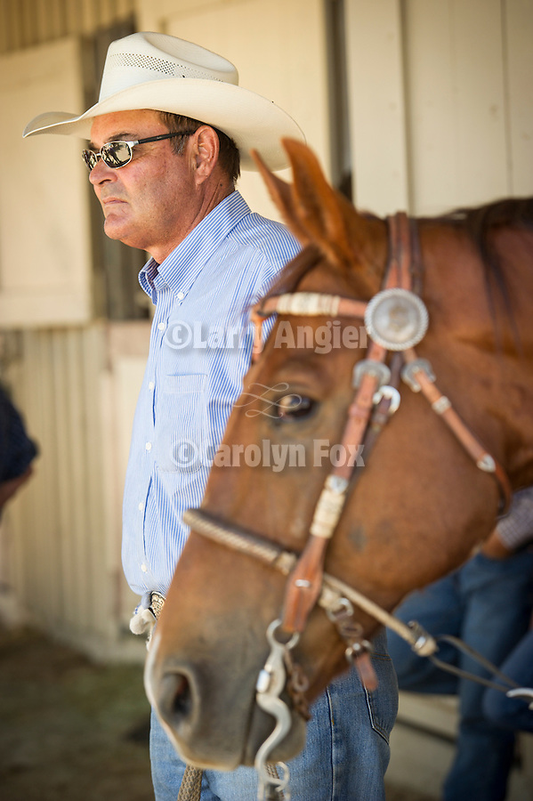 74th Amador County Fair, Plymouth, Calif...Cowboy and horse--Brad Robertson