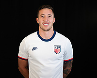 Aaron Herrera during a portrait studio session for the U23 Olympic Qualifying team 2021.