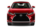 Car photography straight front view of a 2021 Lexus RX 350L 5 Door SUV Front View