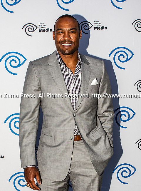 Darren Woodson at the Time Warner Media Cabletime Upfront media event held at the Private Social Restaurant  in Dallas, Texas.