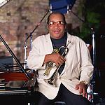 Nat Adderly, Jul 1991 : Portrait of Nat Adderly at Keystone Korner Tokyo Jazz Club, Tokyo, Japan.