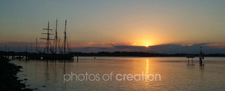 Sundown in Port Macquarie.