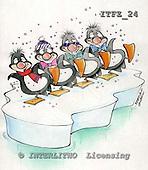 Fabrizio, Comics, CHRISTMAS SANTA, SNOWMAN, paintings, ITFZ24,#x# stickers Weihnachten, Navidad, illustrations, pinturas
