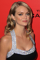 """NEW YORK, NY - NOVEMBER 20: Lindsay Ellingson at the New York Premiere Of Lionsgate's """"The Hunger Games: Catching Fire"""" held at AMC Lincoln Square Theater on November 20, 2013 in New York City. (Photo by Jeffery Duran/Celebrity Monitor)"""