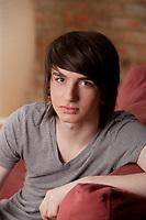 Adolescent (16 ans) emo<br />  en 2010 (model released)<br /> <br /> <br /> PHOTO : <br />  - Agence Quebec Presse