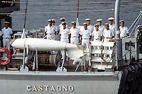 """- Italian Navy, minesweeper """"Castagno""""....- Marina militare italiana, dragamine """"Castagno"""""""