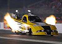 Apr 20, 2018; Baytown, TX, USA; NHRA funny car driver Jonnie Lindberg during qualifying for the Springnationals at Royal Purple Raceway. Mandatory Credit: Mark J. Rebilas-USA TODAY Sports