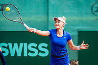The Hague, Netherlands, 09 June, 2018, Tennis, Play-Offs Competition, Womans doubles: Sarah Gronert<br />