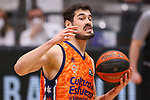 Liga ENDESA 2020/2021. Game: 11.<br /> Club Joventut Badalona vs Valencia Basket: 80-91.<br /> Nikola Kalinic.