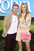 """Ronan and Storm Keating<br /> arriving for the """"Christopher Robin"""" premiere at the BFI Southbank, London<br /> <br /> ©Ash Knotek  D3416  05/08/2018"""