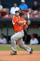Bowling Green Falcons Justin Mott (7) during a game against the Illinois State Redbirds on March 11, 2015 at Chain of Lakes Stadium in Winter Haven, Florida.  Illinois State defeated Bowling Green 8-7.  (Mike Janes/Four Seam Images)