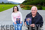 Author PAul O'Leary with his new book Sweet Mysteries of Life which features Emma Doolanfrom Killarney