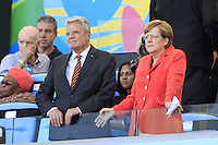 Chancellor of Germany Angela Merkel and President of Germany Joachim Gauck