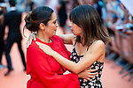 Actress Cristina Plazas and Anna Castillo attends to orange carpet of 'Estoy Vivo' during FestVal in Vitoria, Spain. September 04, 2018. (ALTERPHOTOS/Borja B.Hojas)