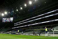 29th September 2020; Tottenham Hotspur Stadium, London, England; English Football League Cup, Carabao Cup, Tottenham Hotspur versus Chelsea; Harry Kane of Tottenham Hotspur warms up pitch side