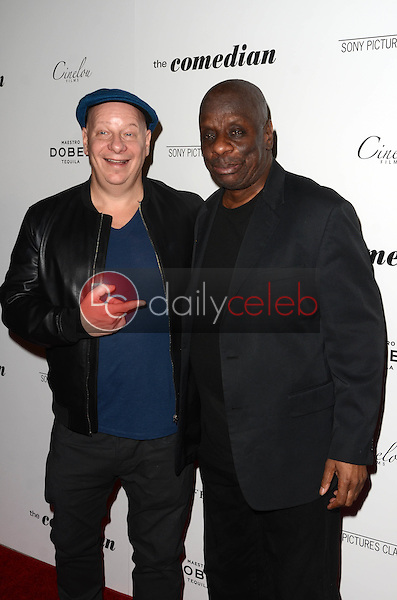 """Jeff Ross, Jimmie Walker<br /> at """"The Comedian"""" Los Angeles Premiere, Pacific Design Center, West Hollywood, CA 01-27-17<br /> David Edwards/DailyCeleb.com 818-249-4998"""