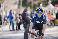 Gianni Moscon (ITA/SKY) pre-race<br /> <br /> 13th Strade Bianche 2019 (1.UWT)<br /> One day race from Siena to Siena (184km)<br /> <br /> ©kramon
