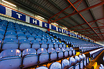 Seats in The Cheadle End. Stockport County v Barnet, 07032020. Edgeley Park, National League. Photo by Paul Thompson.